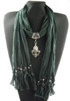 Wholesale New hot Fashion Pendant necklace scarves shawls womens scarves novel scarves cotton fashion scarves