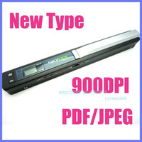 Wholesale SKYPIX Handheld Handy Portable A4 Document Photo Scanner dpi PDF JPEG