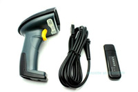 Wholesale Handheld Barcode Bar Code Scanner Reader Wired Wireless in One Black Color