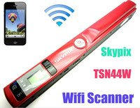 Wholesale SKYPIX Wireless WiFi Handheld Handy Portable A4 Document Photo Scanner Dpi