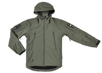 Wholesale HOT TAD V Men Outdoor Hunting Camping Waterproof Coats Jacket Hoodie Soft Shell