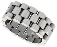 Wholesale Min Order mm Width Stainless Steel Rolex Band Link Ring
