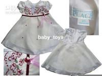 gegrge - GEGRGE Children dresses flower Girls Embroidery net Dress wahying