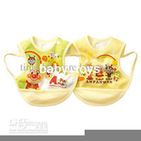 Wholesale new cute Baby Kids Baby Feeding Baby Bibs Toddler Infant Bibs pinafore Smock
