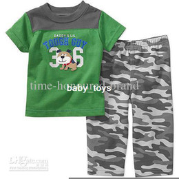 Wholesale Boys Suits Sets Children s Outfits Sets baby two pieces suits Cartoon figure shirts p