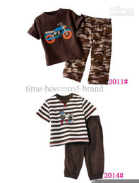 Wholesale new cater s Boys T shirt pants Suits Boys T shirts sets trousers outfit