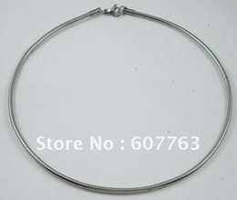 """1.5MM,2MM Width 316L Stainless Steel Silverish Round Tube Omega Chain Necklace 16"""",18"""" Inches or 40CM,45C"""