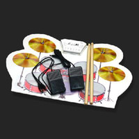 Wholesale MD1008 Portable USB MIDI DRUM KIT Electronic Drum