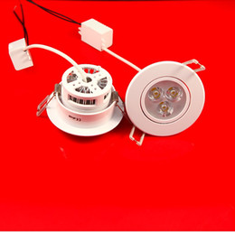 High Quality 3x3W 9W dimmable led downlights ceiling recessed led downlight 600lm AC100-240V CE RoHS