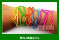 Wholesale Multiform Funny Shape Rubber Band silicone animal band Kids toys Hair band Xmas gifts