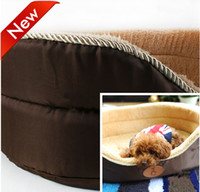 Wholesale Pet bed both side can be used dog winter bed super warm dog house dog kennel EMS