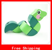 Wholesale Melissa Doug Educational Toys Wiggling Worm Snake Grasping Toy Xmas Gifts Activities Baby Hands