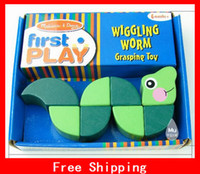 Wholesale Xmas Gifts Melissa Doug Wiggling Worm Snake Grasping Educational Toys Activities Hands