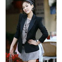 Women Other Formal Western style Fashion women's suit One Button ladies suit slim long sleeve business suits clothes