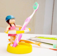 Wholesale Hot Smart Kids Hula hoop Toothbrush Holder