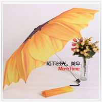 Wholesale NEW Terylene Anti UV Sun Flower Flounced Skirt Lady s Umbrella Folding Umbrella