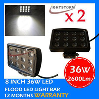 Wholesale 2pcs W LED work light lamp for x4 offroads vehicles SUV WD ATV UTV Jeep truck LED driving light