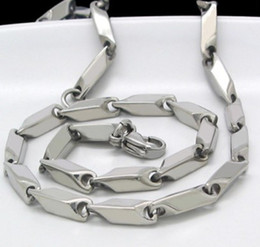 3.0mm High polished silver Stainless steel link chain necklace,19.6''.for boy&men's gifts