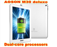 Wholesale Android Aoson M30 Deluxe inch IPS RK3066 Dual Core GHz mAh GB MP Camera