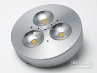 Wholesale Hot sell W LED Puck Cabinet Light LED spotlight led down lights v V