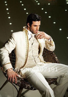 Good Quality Groom Tuxedos 2014 Formal Best Men's Suits Groo...