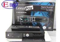 Wholesale GLL158 Lexuzbox F90 HD receiver DVB C tuner RJ45 port HDMI p cable receiver for Brazil