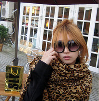 Wholesale Scarves Sexy Leopard Long Scarves cm OPP Packing Manmade Cashmere Fancy Cool Winter Scarves