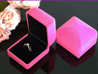 Cheap Ring ring box Best Velvet Valentine's Day diamnd ring