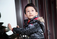 Wholesale BOYS JACKET PUFFER DOWN FILLED POLO COAT JACKET
