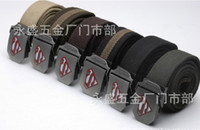 Wholesale The Superman belt men lengthened Braces outdoor canvas belt fashion belt
