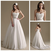 Reference Images Sweetheart Organza Strapless Beading and Ruffle Floor Length White Organza Grecian Style Wedding Dresses 2013 A-Line