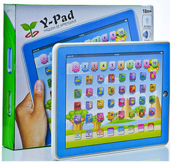 Wholesale retail Y Pad Spanish Learning Toys Pink and Blue Mixed Music Led Light