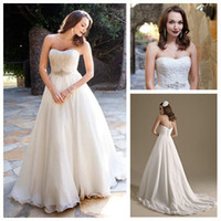 Reference Images Sweetheart Organza White Organza A-Line Strapless Beading and Ruffle Floor Length Grecian Style Wedding Dresses 2013