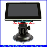 Wholesale 4 Portable GPS Receiver Navigation with GB memorry and free map car gps navigation system