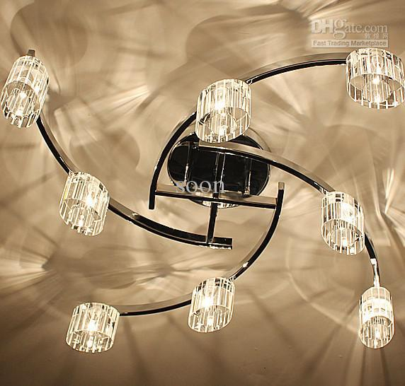 2017 Modern Fashion Personality Glass Ceiling Light Chandelier