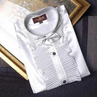 Best Men's Long- sleeved Shirt (39- - 44) Festival Wedding Prom...