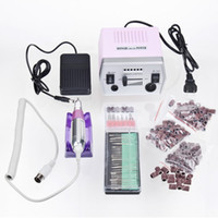 Wholesale Professional V V Electric Nail Art Glazing Drill Manicure Machine Kit EU US Plug