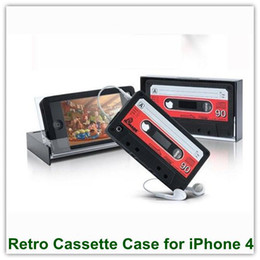 Wholesale High Quality Cassette Type Soft Silicone Case for iPhone G S