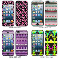 Wholesale for iphone skin sticker PVC material aztec stlye adesign Mixed design szsk ip5