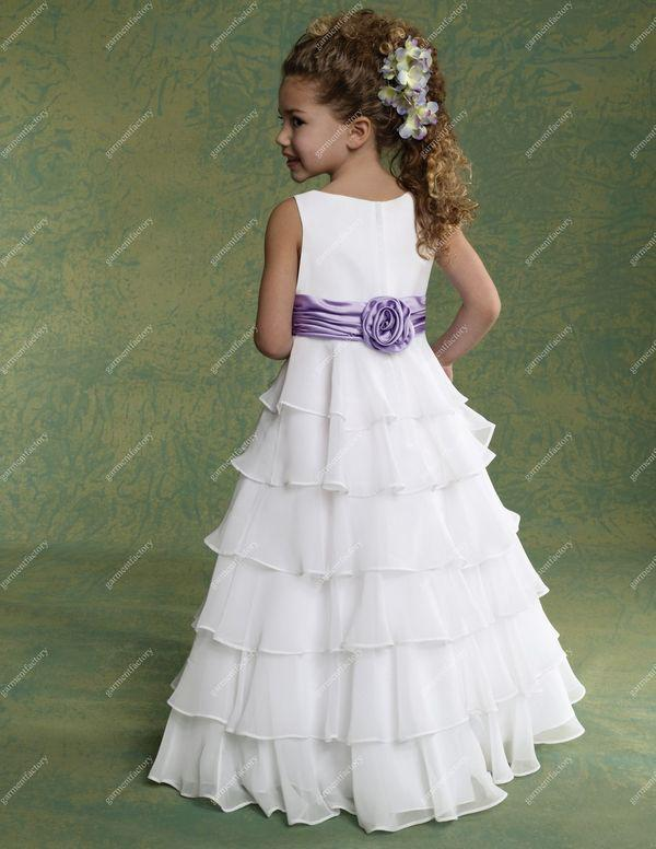 Cheap white flower girl dresses sanmaz kones cheap white flower girl dresses mightylinksfo