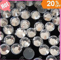 Wholesale DMC hotfix rhinestones Crystal Clear Color ss20 iron on rhinestones bling crystal mm