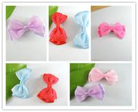 bowknot Hair Clips Halloween Free shipping christmas gift Girls Head Flower Clip Hair Accessories cute hair clip EMS 500PCS