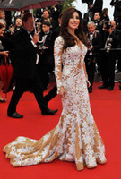 по заказу 2013 Летние атласные Оболочка V шеи длиной до пола, платья знаменитостей