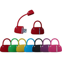 Wholesale 2012 Mini Handbag USB Flash Memory Drive G Colors for choose pink black red blue green blue