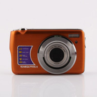 Wholesale 15MP digital camera inch x optical zoom macro slim digital cameras Christmas gifts black colour