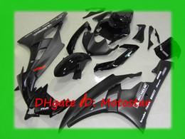 Gloss matte flat black for YAMAHA 2006 2007 YZF-R6 fairing kit YZFR6 06 07 YZF R6 YZF600 bodywork