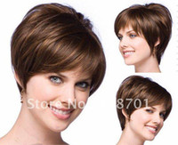 Wholesale 2012 hot wig hair Fashion hair Lady wig Short hair High quality