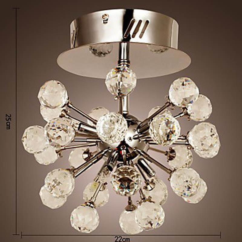 K9 Crystal Chandelier With 6 Lights In Globe Shape Led Chandelier – Globe Chandelier Light
