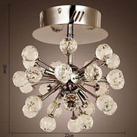 Wholesale K9 Crystal Chandelier with Lights in Globe Shape LED Chandelier