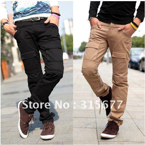 Online Cheap 2012 New Arrival Mens Cargo Pants Designer Big Pocket ...